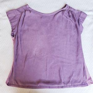 Tops - 2 Toned Lavender Summer Top